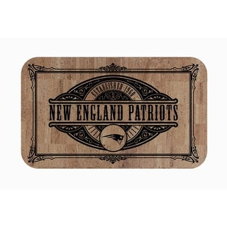 "Link to Fanmats NFL New England Patriots Sports Team Logo Cork Comfort Mat - 18"" x 30"" Similar Items in Fan Shop"