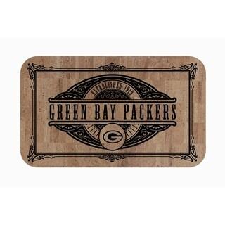 "Link to Fanmats NFL Green Bay Packers Sports Team Logo Cork Comfort Mat - 18"" x 30"" Similar Items in Fan Shop"
