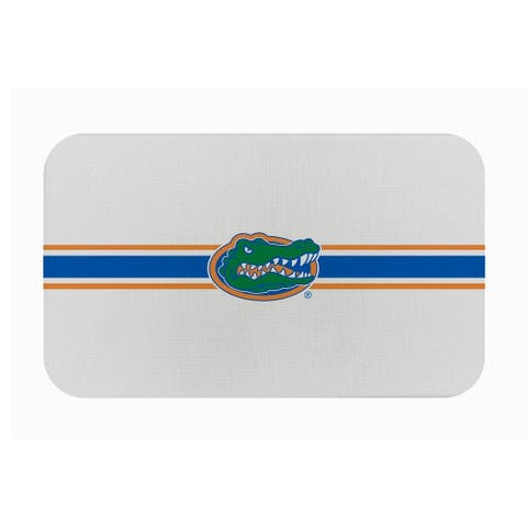 "Fanmats NCAA University of Florida Sports Team Logo Burlap Comfort Mat - 29"" x 18"" x 0.5"""