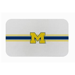 "Link to Fanmats NCAA University of Michigan Sports Team Logo Burlap Comfort Mat - 29"" x 18"" x 0.5"" Similar Items in Fan Shop"