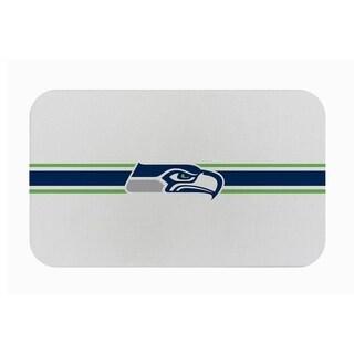 "Link to Fanmats NFL Seattle Seahawks Sports Team Logo Burlap Comfort Mat - 29"" x 18"" x 0.5"" Similar Items in Fan Shop"