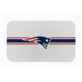 "Link to Fanmats NFL New England Patriots Sports Team Logo Burlap Comfort Mat - 29"" x 18"" x 0.5"" Similar Items in Team Sports Equipment"