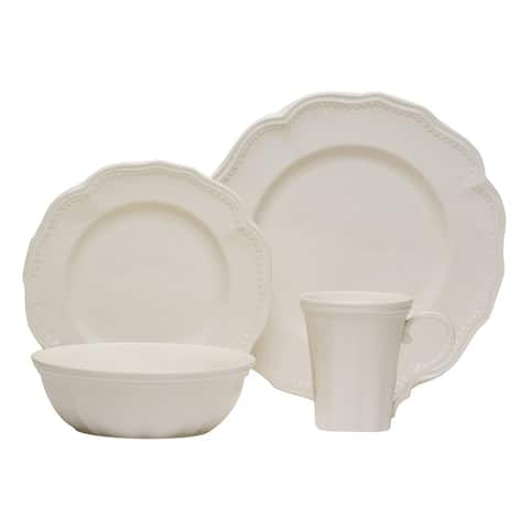 Christopher Knight Collection Cottage 16Pc Dinner Set with Coupe Bowls