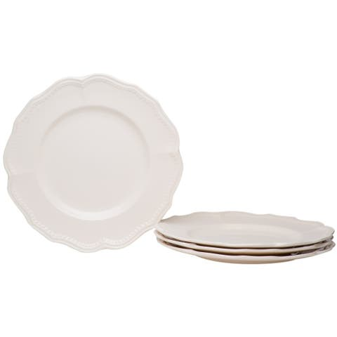 Christopher Knight Collection Cottage Dinner Plates Set of 4 - N/A