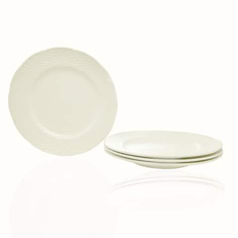 Christopher Knight Vineyard Set of 4 Salad Plates - N/A