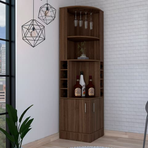 Copper Grove Tumanyan Corner Bar Cabinet