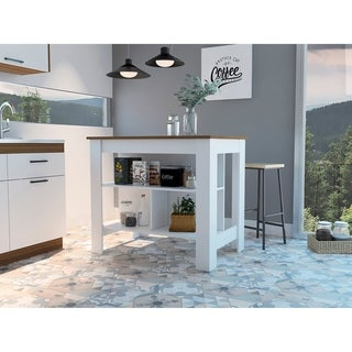 Carson Carrington Vannasberget Kitchen Island