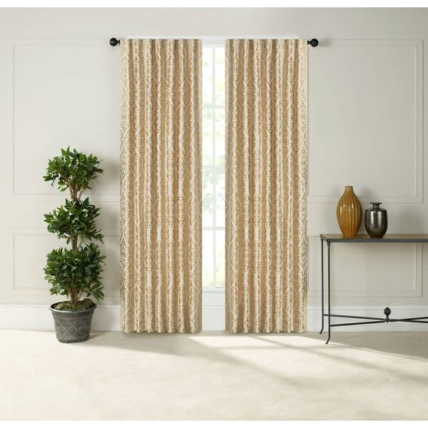 "Tokyo Pocket Rod Drapery Panel - Pair - 54"" x 63"". Opens flyout."