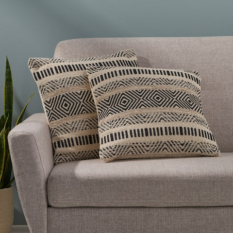 Artesian Boho Cotton Pillow Cover (Set of 2) by Christopher Knight Home