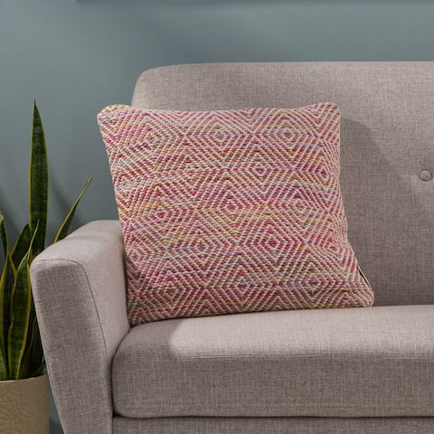 Beacon Boho Cotton Pillow Cover by Christopher Knight Home