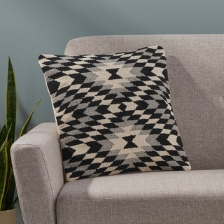 Barber Boho Cotton Pillow Cover by Christopher Knight Home