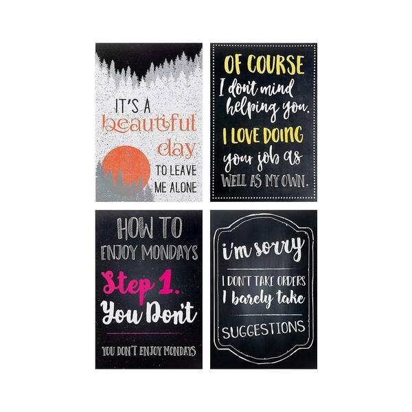 Shop Juvale 20 Pack Funny De Motivational Satire Quotes Posters