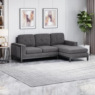 Buy Black, Fabric Sectional Sofas Online at Overstock   Our ...