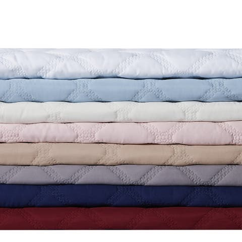 Truly Soft Everyday 3D Puff Quilt Set..