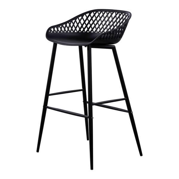 Astounding Shop Aurelle Home Modern Outdoor Bar Stools Set Of 2 On Andrewgaddart Wooden Chair Designs For Living Room Andrewgaddartcom