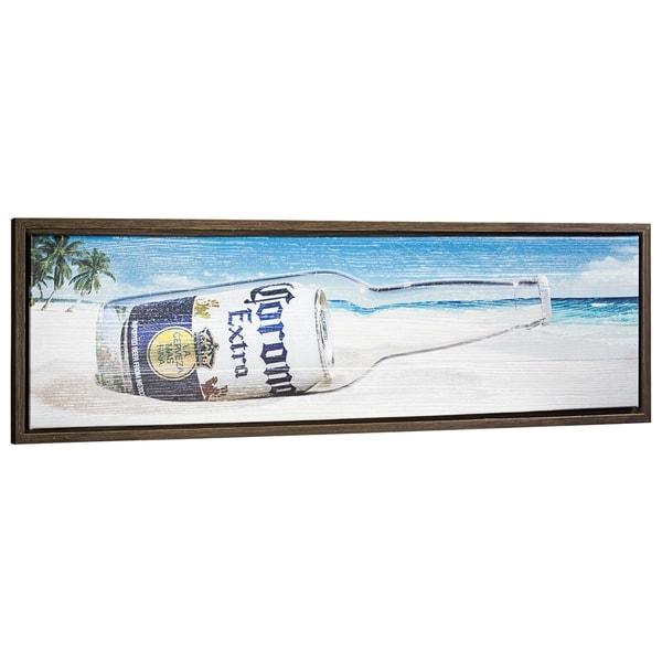 Corona Extra Framed Canvas Wall Art Decor