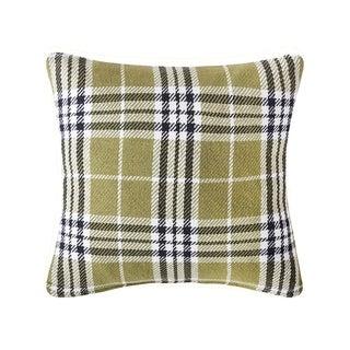 Max Plaid Tarragon 18 x 18 Pillow