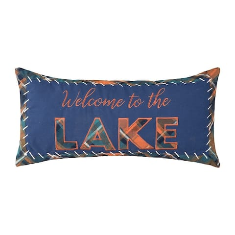 Lake Troy 12 x 24 Decorative Accent Throw Pillow