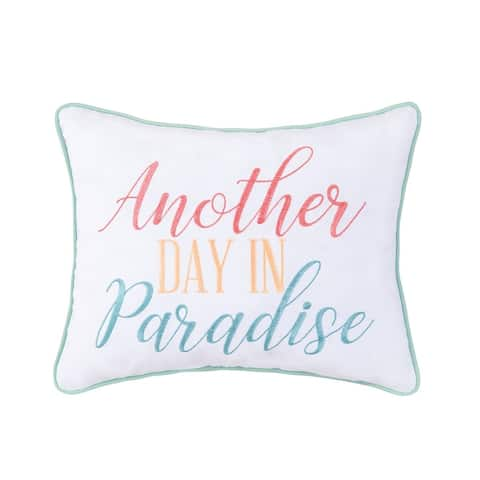 Day In Paradise 14 x 18 Decorative Accent Throw Pillow