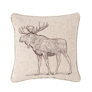 Forest Rustic 18 x 18 Cotton Pillow