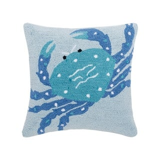 Crab Hooked 18 x 18 Pillow