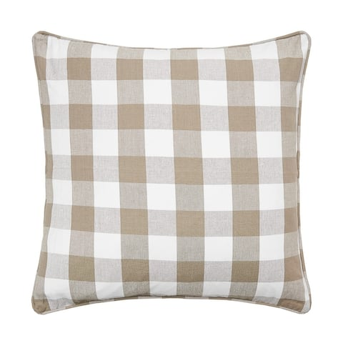 Franklin 20 x 20 Cotton Decorative Accent Throw Pillow