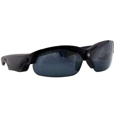Coleman VisionHD 1080p HD Video Sunglasses, Black