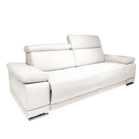 Buy White, Leather Sofas & Couches Online at Overstock | Our ...