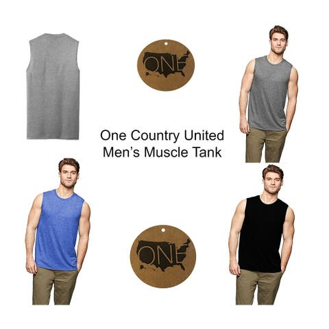 One Country United Men's Muscle Tank