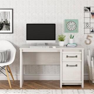 Link to Porch & Den Simmental Ivory Finish 2-drawer Computer Desk Similar Items in Desks & Computer Tables