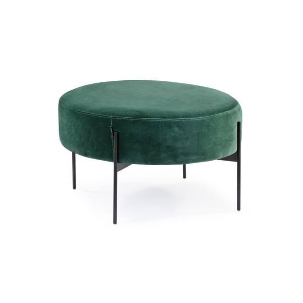 Fabulous Shop Kardiel Mid Century Dot Large Ottoman Free Shipping Machost Co Dining Chair Design Ideas Machostcouk