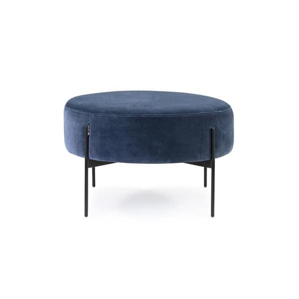 Awesome Shop Kardiel Mid Century Dot Large Ottoman Free Shipping Machost Co Dining Chair Design Ideas Machostcouk