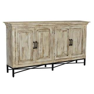 Link to Bengal Manor Hand Distressed 4 Door Sideboard Similar Items in Dining Room & Bar Furniture