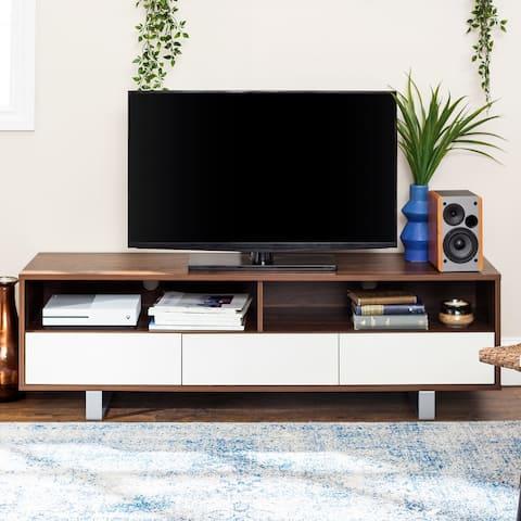 "Carson Carrington 60"" Modern 3-Drawer Low TV Console"