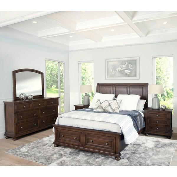 shop abbyson hartford 5 piece bedroom set - on sale