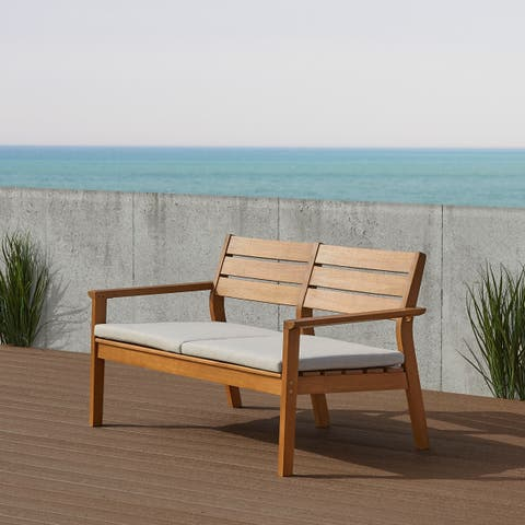 Hale Two Seat Bench by Real Flame - N/A