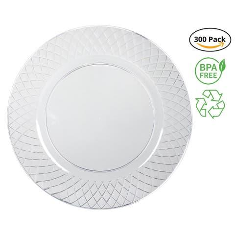 Party Joy I Cant Believe Its Plastic 300-Piece Plastic Plate Set