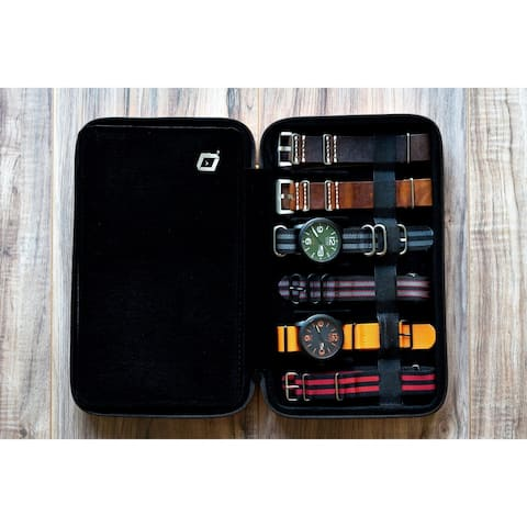 Caddy Bay Collection Compact Travel Watch Band Case