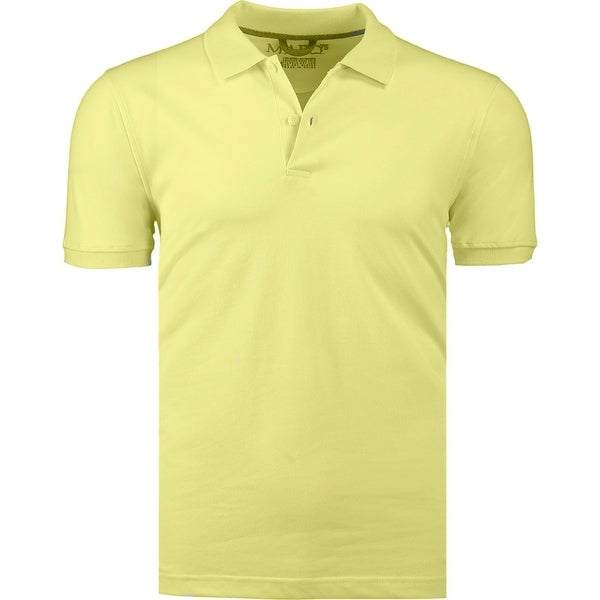 Marquis Mens Jersey Slim Fit Short Sleeve Golf Polo Knit