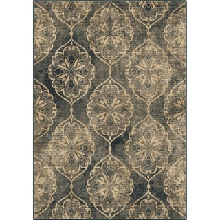 Link to Orian Rugs Super Voyage Livingston Blue Similar Items in Transitional Rugs