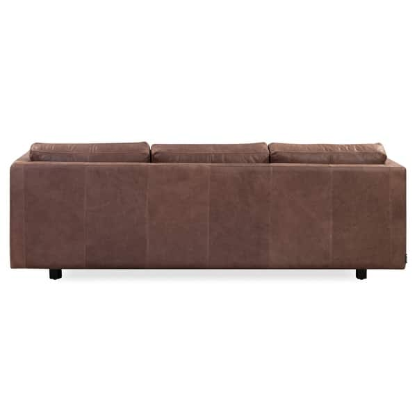 Strange Shop Kardiel Mid Century Manhattan 85 Leather Sofa Width Ncnpc Chair Design For Home Ncnpcorg