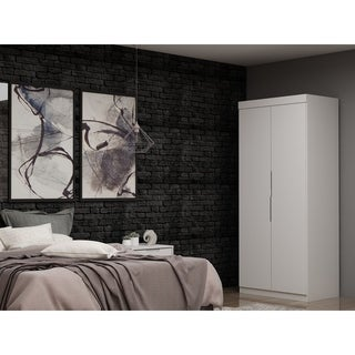 Mulberry 2.0 Sectional Modern Armoire Wardrobe Closet