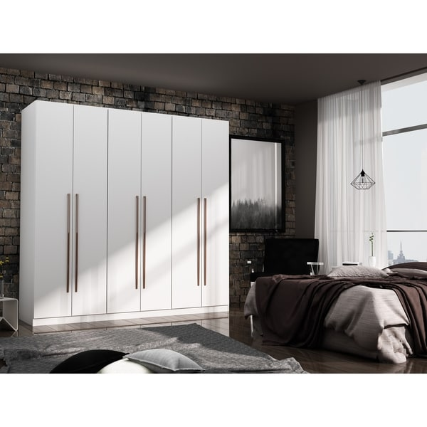 Gramercy Modern Freestanding Wardrobe Armoire Closet. Opens flyout.