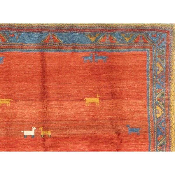 Genuine Persian Gabbeh Rug