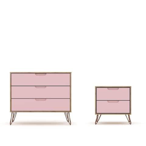 Carson Carrington Bandene Modern Dresser and Nightstand Set