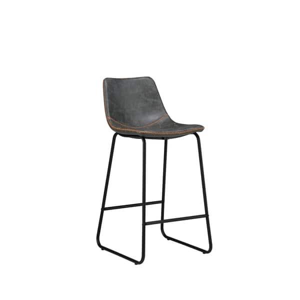 Fabulous Shop Rico Modern Kitchen Island Counter Stool 26 H Orange Machost Co Dining Chair Design Ideas Machostcouk