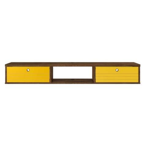Carson Carrington Banteby 3-shelf Floating Office Desk