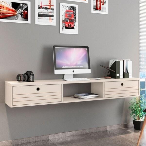 Carson Carrington Banteby 3-shelf Floating Office Desk. Opens flyout.