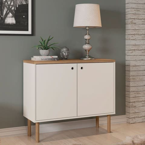 Carson Carrington Taberg Modern Wood Accent Cabinet