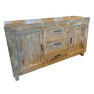 Link to Bengal Manor Hand Distressed Sideboard Similar Items in Dining Room & Bar Furniture